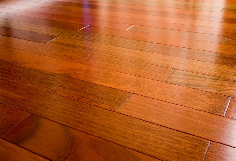Elegant floors hardwood flooring brazilian cherry for Cherry hardwood flooring