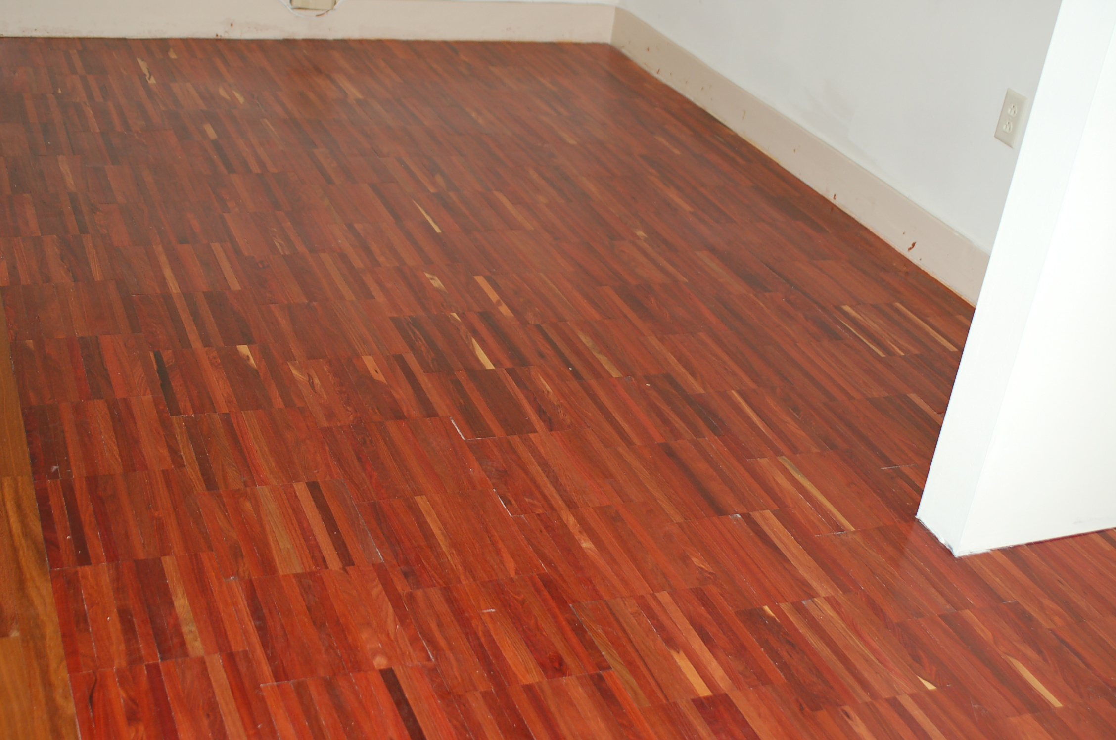 Brazilian cherry flooring for Mahogany flooring